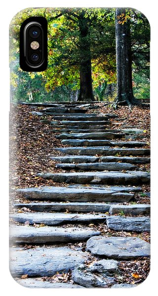 Steps Of Fall IPhone Case