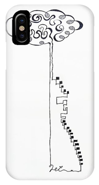 Steps To The Clouds IPhone Case