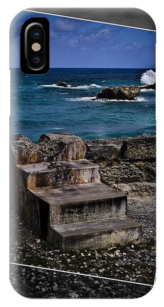 Steps To The Ocean2 IPhone Case