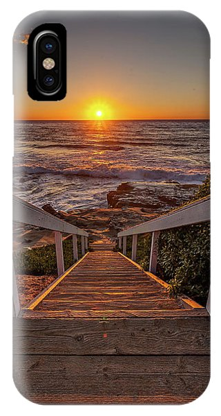 Steps To The Sun  IPhone Case