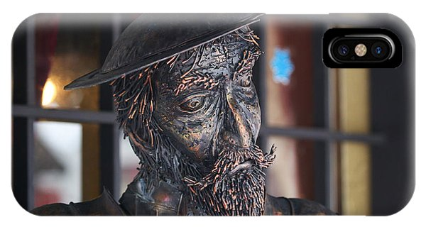 Stern Face IPhone Case