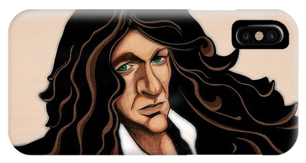 Howard Stern iPhone Case - Stern by Michael Spatola