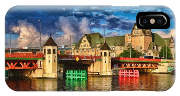 Stettin Bridge - Pol890431 IPhone Case