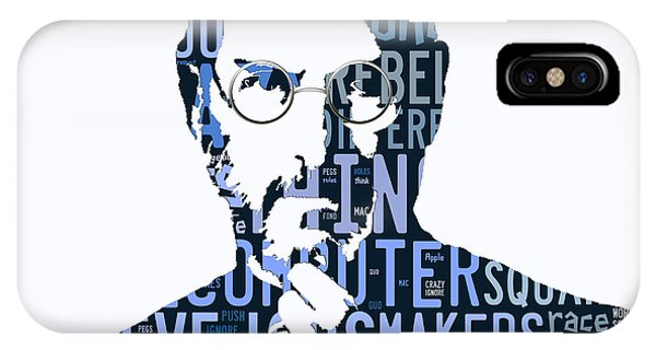 Steve Jobs Here's To The Crazy One's Speach IPhone Case