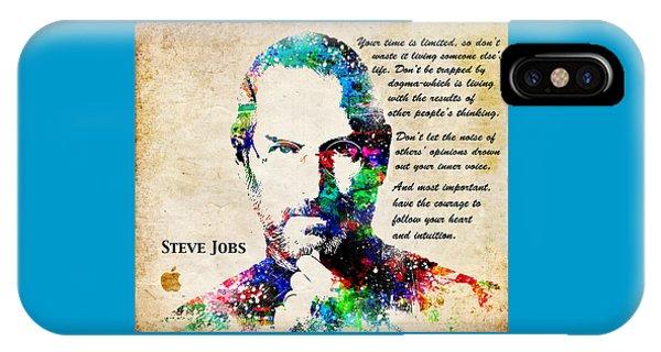 Steve Jobs Portrait IPhone Case