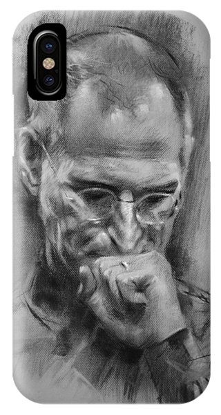 Apple iPhone Case - Steve Jobs by Ylli Haruni