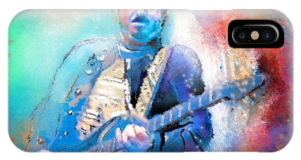 Steve Lukather 01 IPhone Case