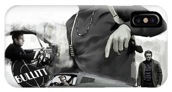 Steve Mcqueen Bullitt Mcqueen  IPhone Case
