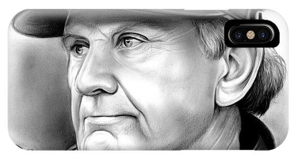 Carolina iPhone Case - Steve Spurrier by Greg Joens