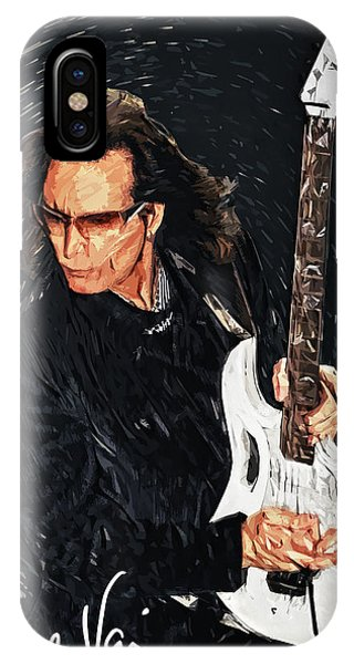 Frank Zappa iPhone Case - Steve Vai by Zapista Zapista