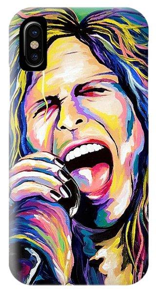 Steven Tyler iPhone Case - Steven Tyler by Amy Belonio