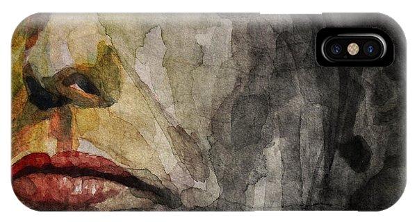 Steven Tyler iPhone Case - Steven Tyler  by Paul Lovering