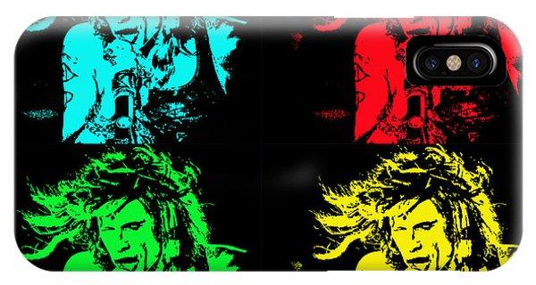 Steven Tyler iPhone Case - Steven Tyler Pop Art by Traci Cottingham