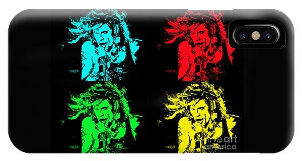 Steven Tyler Pop Art IPhone Case
