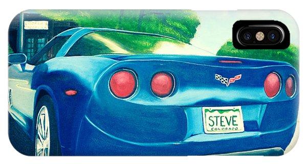 Steve's Corvette IPhone Case