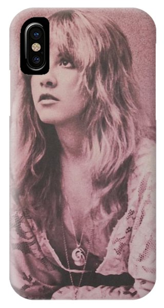Music iPhone Case - Stevie Nicks  by Donna Wilson