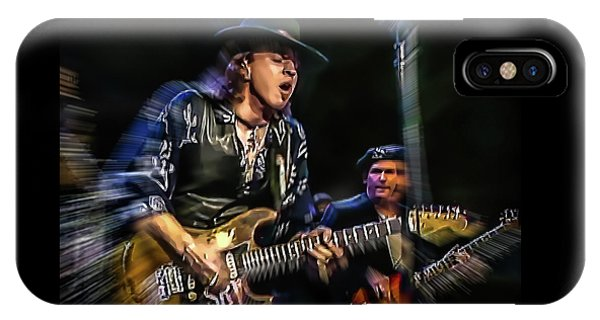 Stevie Ray Vaughan - Couldn't Stand The Weather IPhone Case
