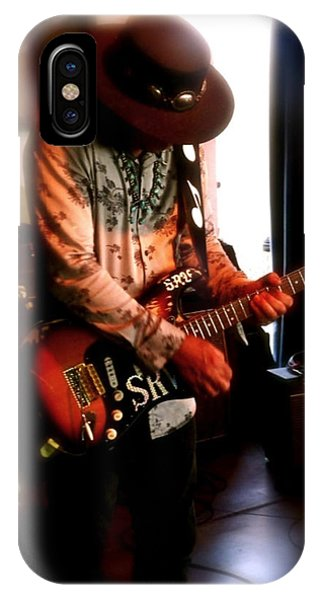 Stevie Ray Vaughan Reflections   IPhone Case