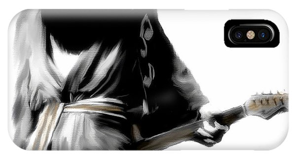 Stevie Ray Vaughan Shadowing Soul IPhone Case