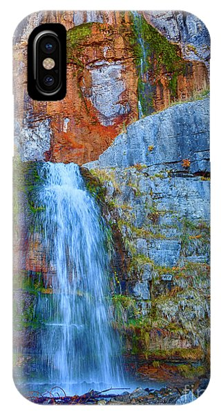 IPhone Case featuring the photograph Stewart Falls by David Millenheft