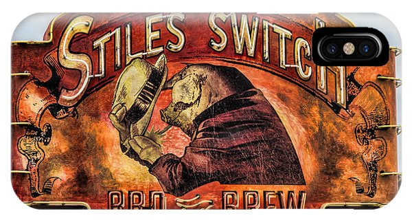 Stiles Switch Bbq IPhone Case