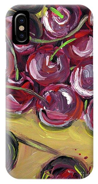 Still Life 135. Cherries IPhone Case