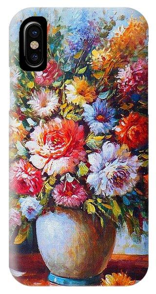 Still Life Flowers IPhone Case