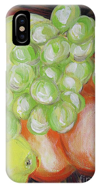 Still Life. Grapes. Fruits.  IPhone Case