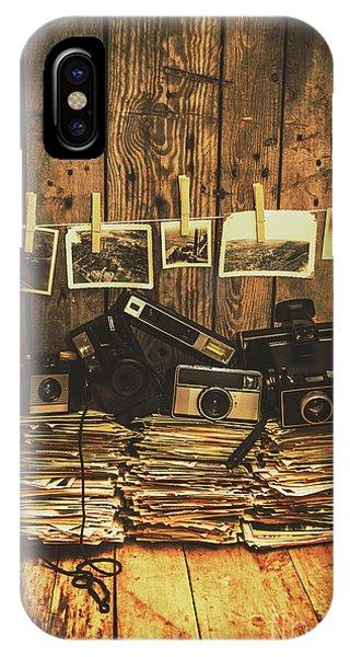 Vintage Camera iPhone Case - Still Life Nostalgia by Jorgo Photography - Wall Art Gallery