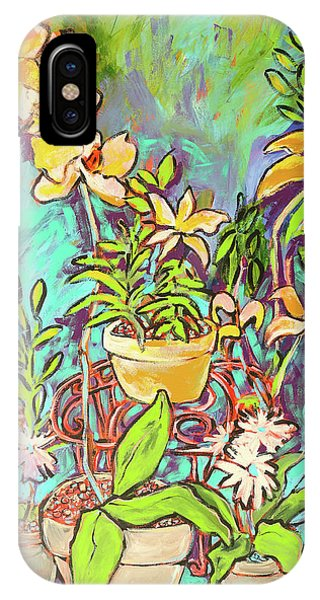 iPhone Case - Still Life Of Flowers by Arrin Burgand