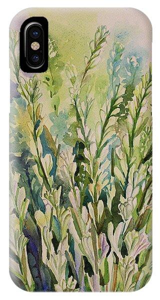Still Life Of Tuberose Flowers IPhone Case