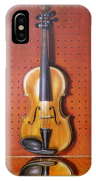 Still Life Of Violin Phone Case by RB McGrath