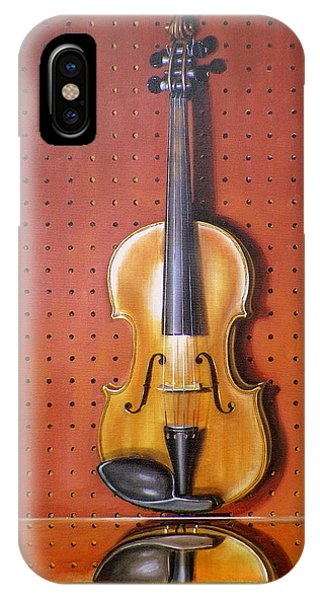 Still Life Of Violin IPhone Case