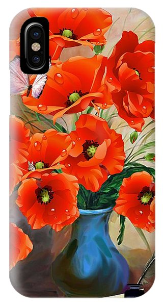 Still Life Poppies IPhone Case