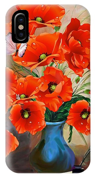 Still Life Poppies IPhone Case