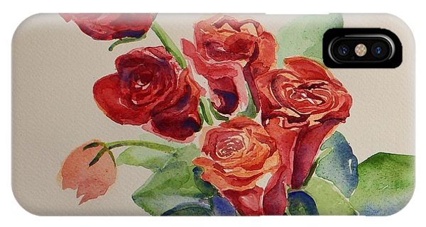 Still Life Red Roses IPhone Case