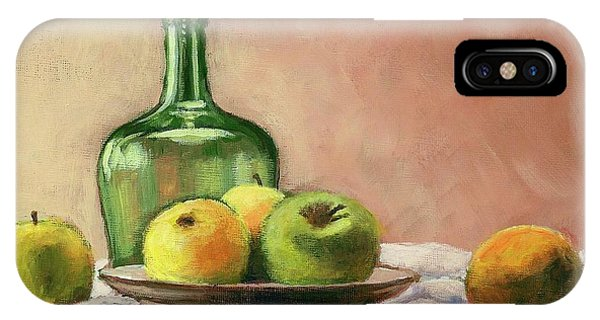 Still Life With Bottle IPhone Case