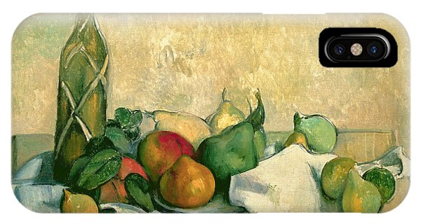 Life iPhone Case - Still Life With Bottle Of Liqueur by Paul Cezanne