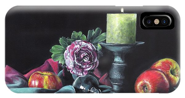 Still Life With Candle IPhone Case
