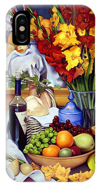 Pears iPhone Case - Still Life With Cezanne by Patrick Anthony Pierson