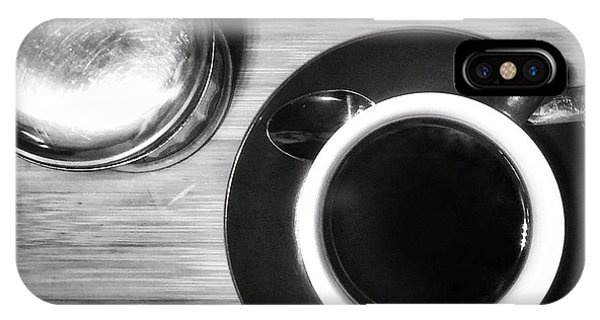 IPhone Case featuring the photograph Still Life With Coffee And Sugar by Dirk Jung