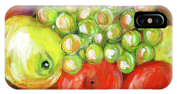 Still Life With Fruit. Painting IPhone Case