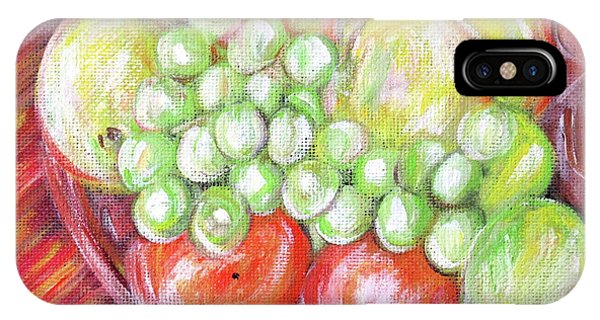 Still Life With Fruits. Harvest Time.painting  IPhone Case