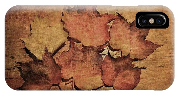 Still Life With Leaves IPhone Case