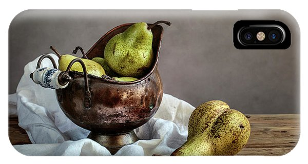 Pear iPhone Case - Still-life With Pears by Nailia Schwarz