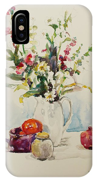 Still Life With Pomegranate IPhone Case
