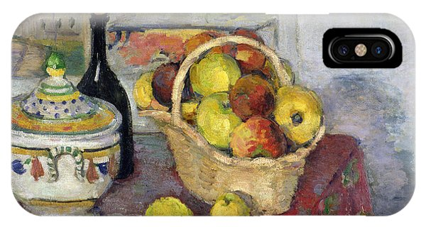 1877 iPhone Case - Still Life With Tureen by Paul Cezanne