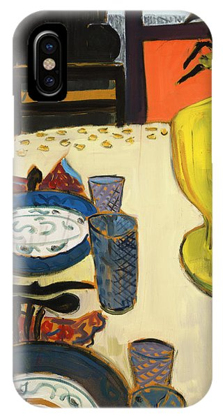 Still Life With Two Plates IPhone Case