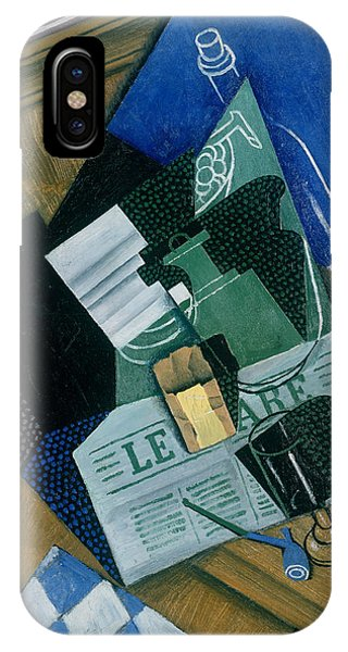 Still Life With Water Bottle, Bottle And Fruit Dish, 1915 IPhone Case