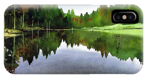iPhone Case - Still Water Tarn Hows by Paul Dene Marlor